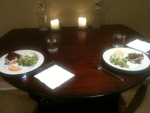 Dinner for two